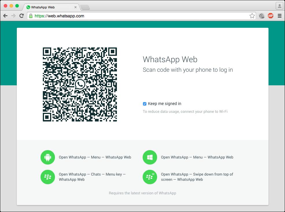 WhatsApp Web1
