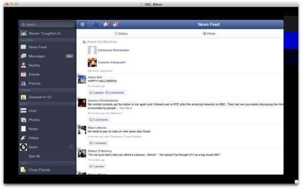 Apple TV Facebook