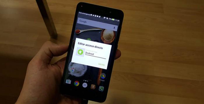 Cambiar nombre aplicaciones Android