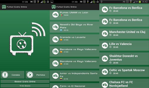 Fútbol gratis Android