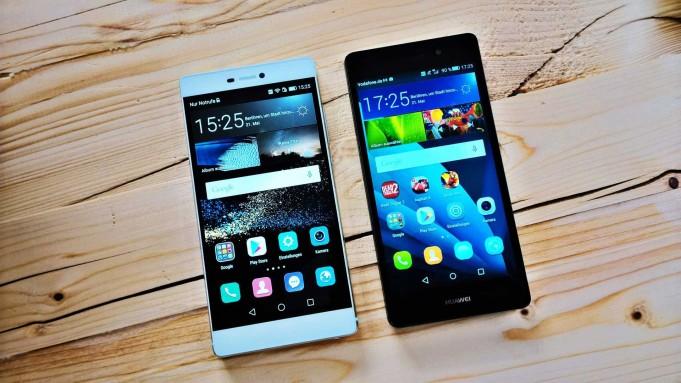 Huawei P8 Lite vs Huawei P8