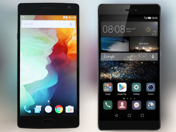 Huawei P8 vs. OnePlus 2