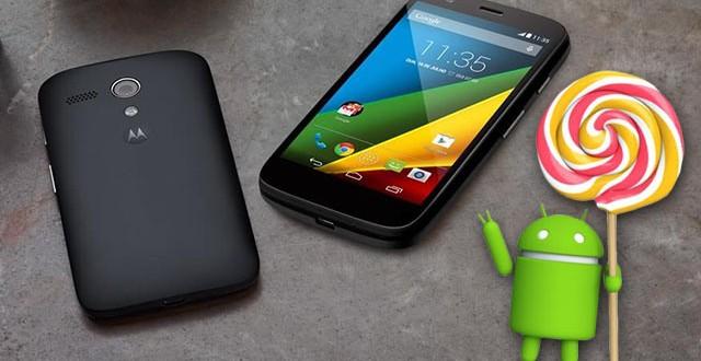 Moto G Android 6.0 Marshmallow