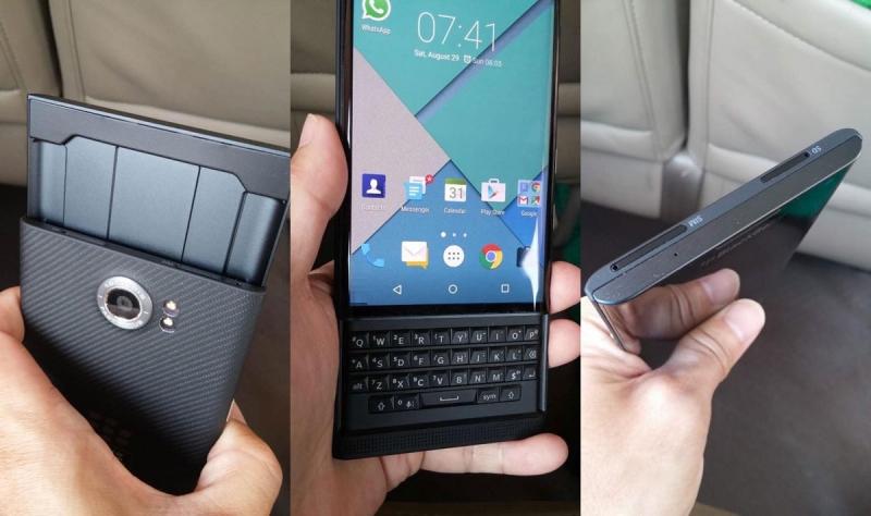 BlackBerry Slider