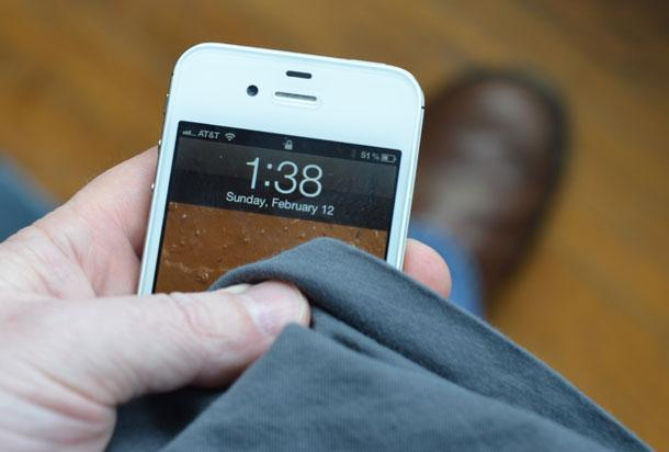 Limpiar el móvil