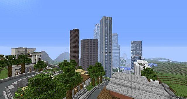 Los Santos GTA V Minecraft