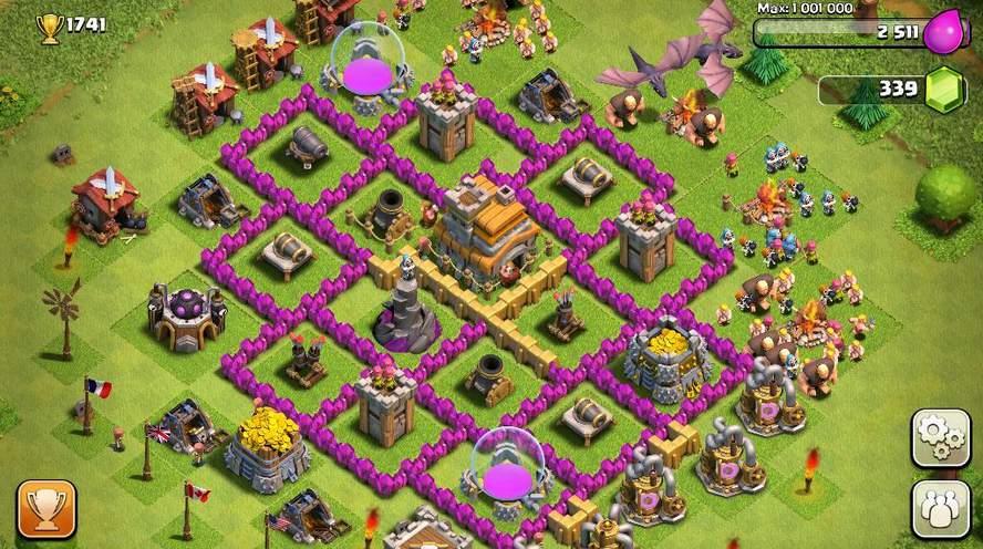 Clash of Clans chozas de constructor