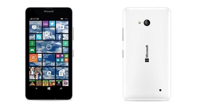 Microsoft Lumia 550 vs Lumia 650