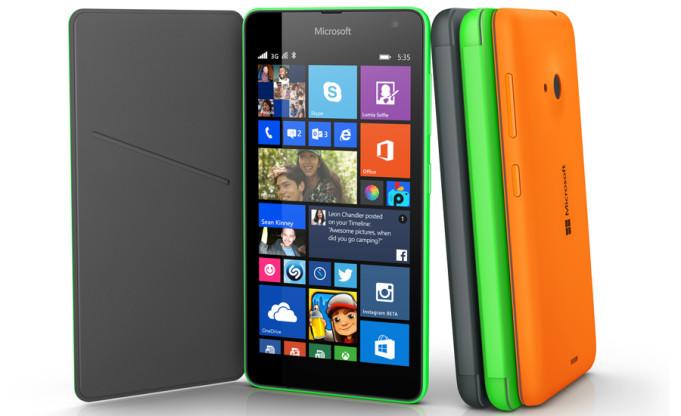 LG G3 vs Microsoft Lumia 535