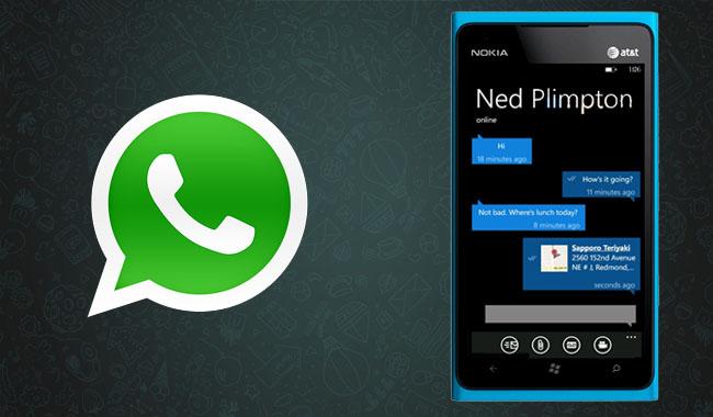 WhatsApp 2.12.314 Windows Phone