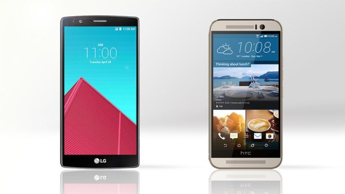 HTC One M9 vs LG G4