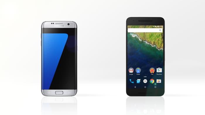 Nexus 6P vs Samsung Galaxy S7 Edge 2