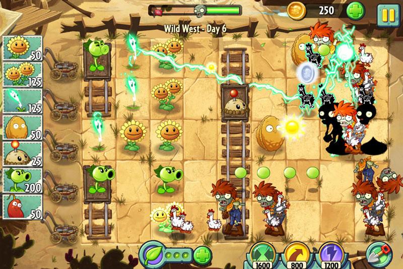 Plants vs Zombies 2 4