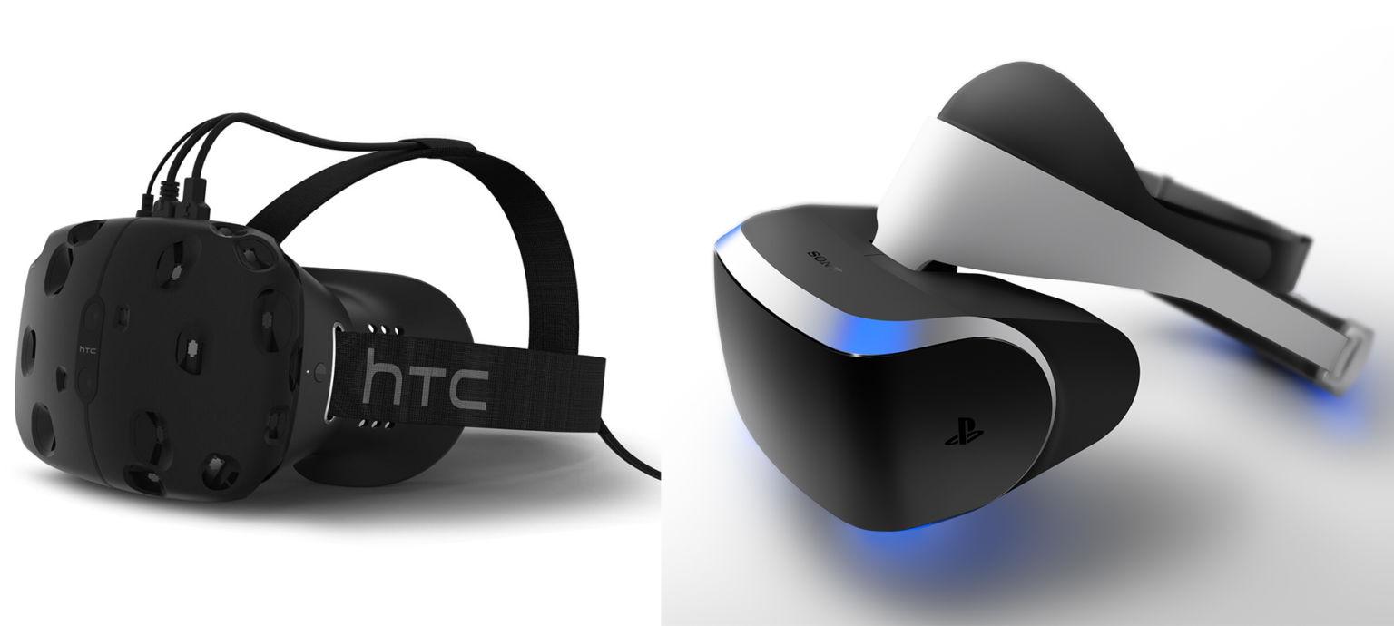 Sony PlayStation VR vs HTC Vive