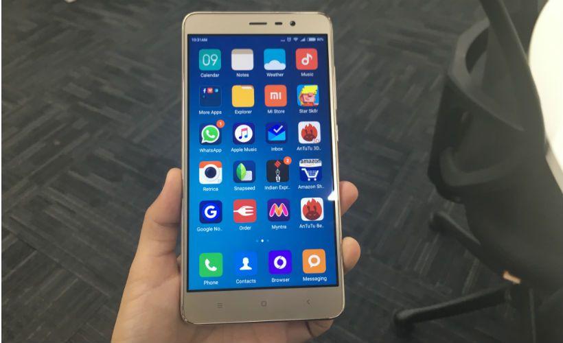 Xiaomi Redmi 3 Pro vs Vivo V3Max
