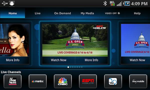 Aplicaciones TV Android 1