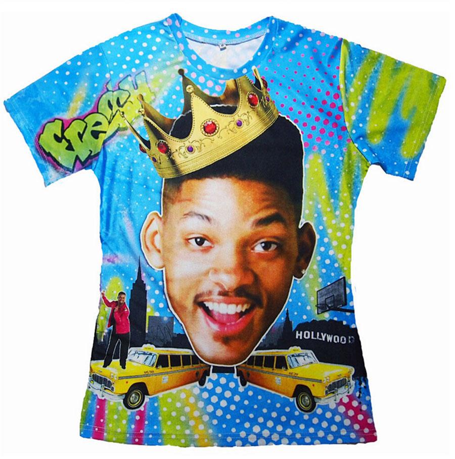 Camiseta del Principe de Bel Air