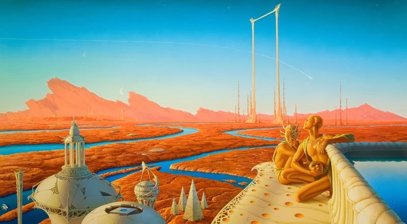 libro crónicas marcianas