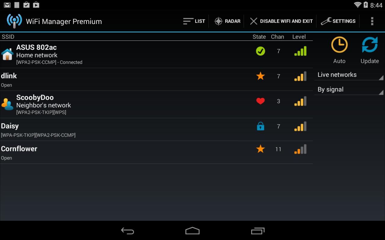Aplicaciones WiFi 2