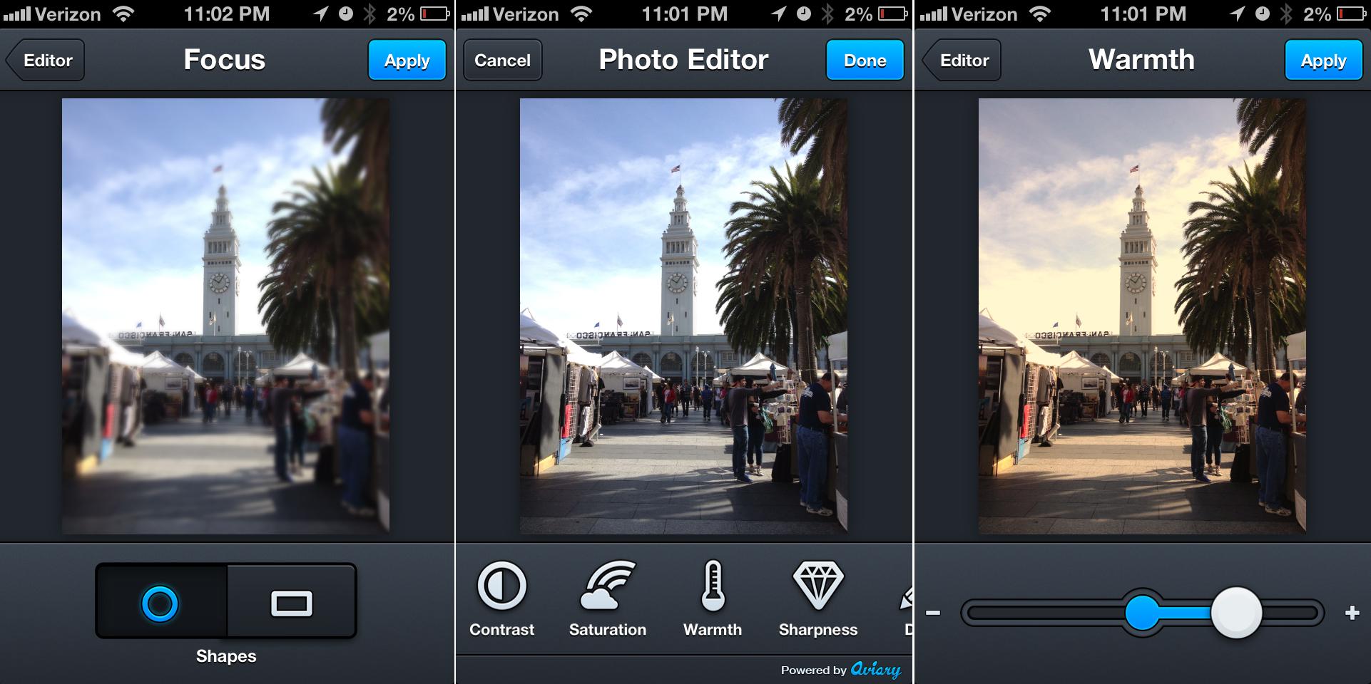 Aplicaciones edición fotografías 3