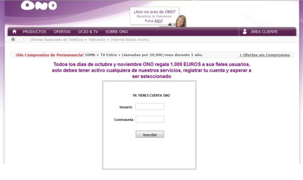 Configurar correo electrónico ONO