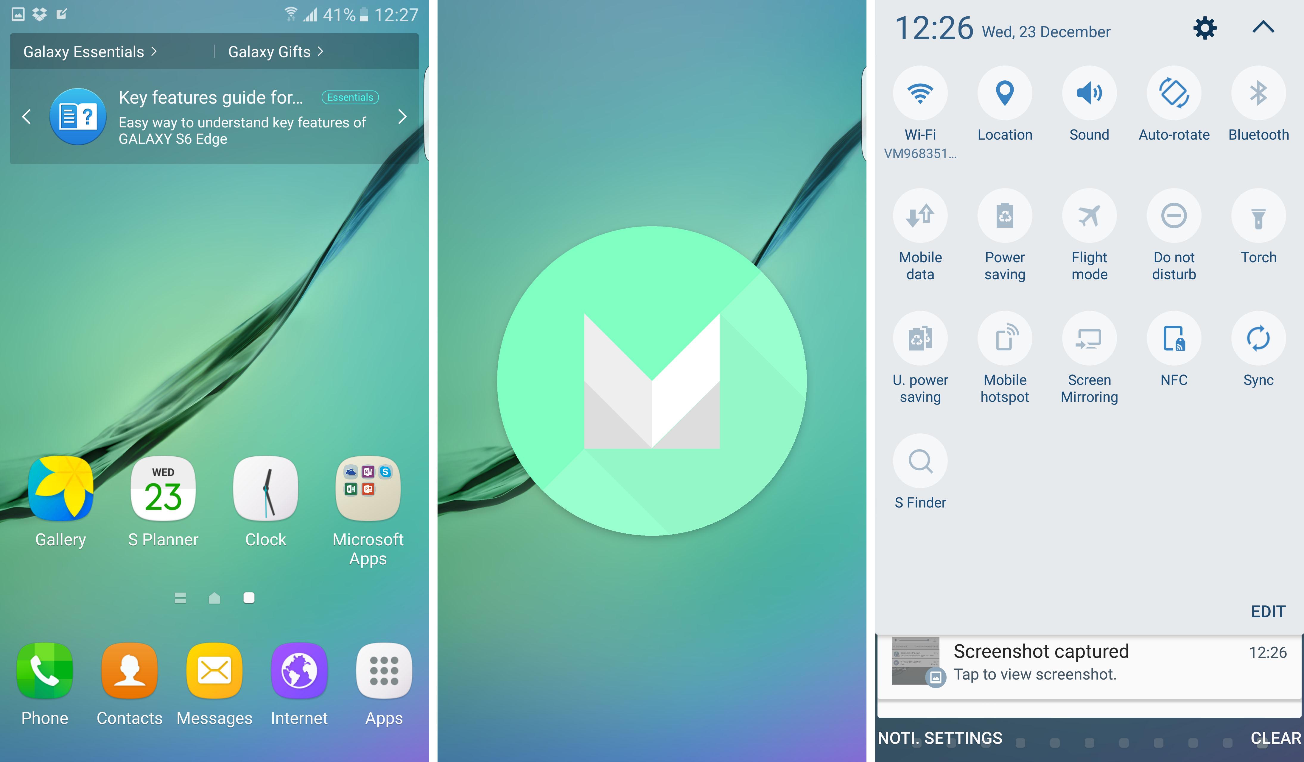 Galaxy S6 Marshmallow 2