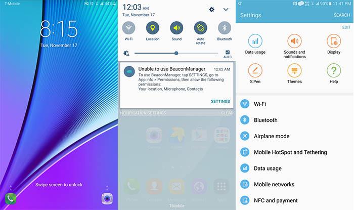 Galaxy S6 Marshmallow bloqueo 2