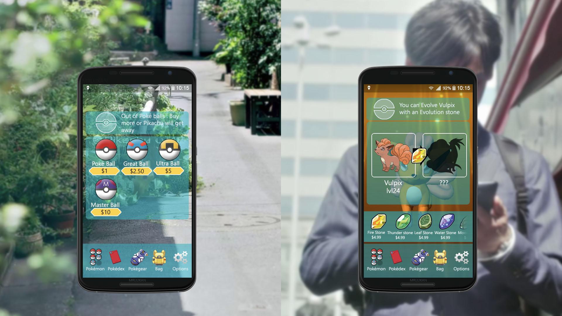Pokémon Go para Java Touch