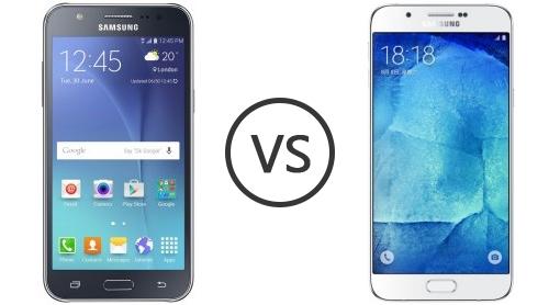 Samsung Galaxy J7 vs Samsung Galaxy A7