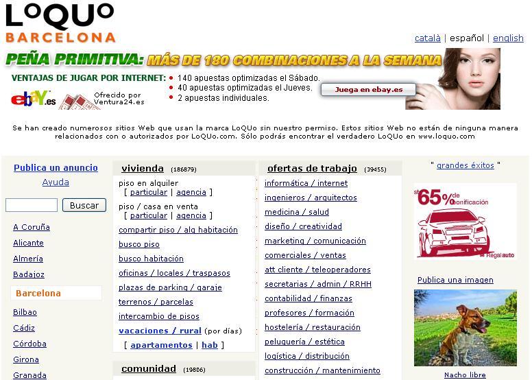 webs para publicar anuncios gratis