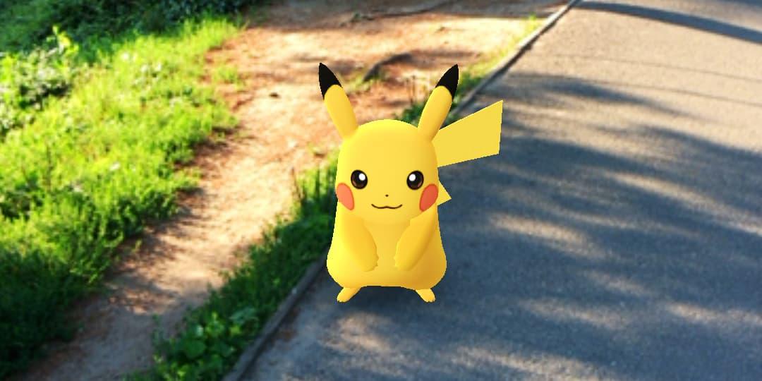 Capturar a Pikachu en Pokémon Go