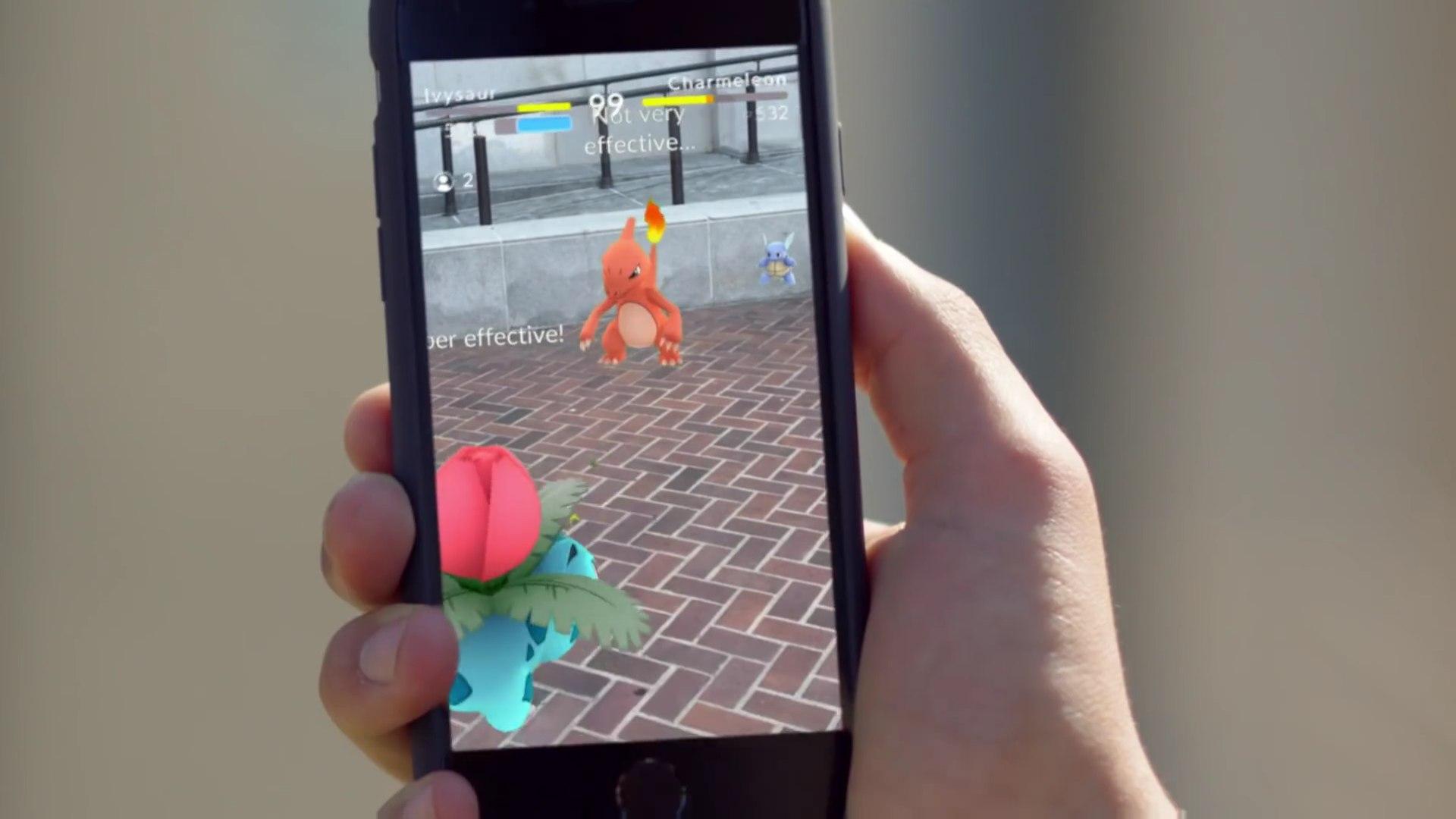 Cómo entrenar en Pokémon Go