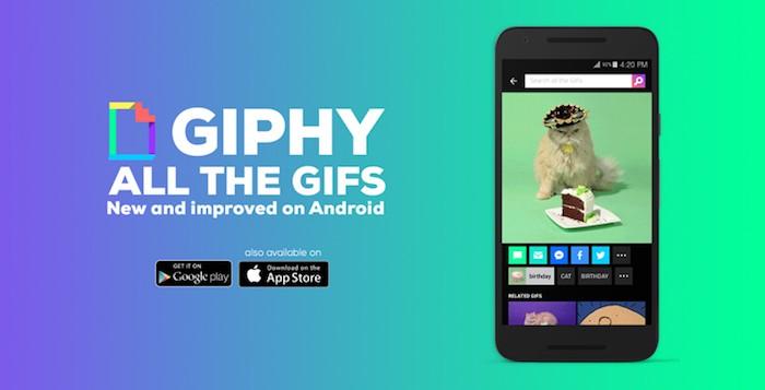 Descargar Giphy Android 1