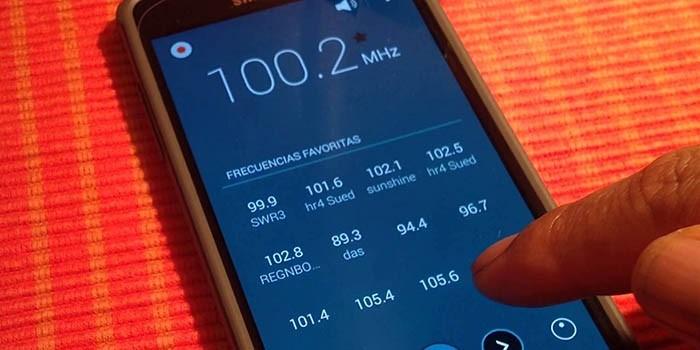 Escuchar radio FM Galaxy S7