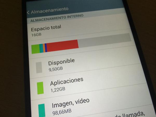 Liberar memoria Android