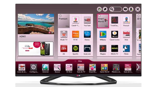 Mejores aplicaciones Smart TV LG