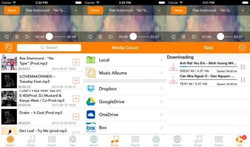 Mejores aplicaciones escuchar música iOS Android