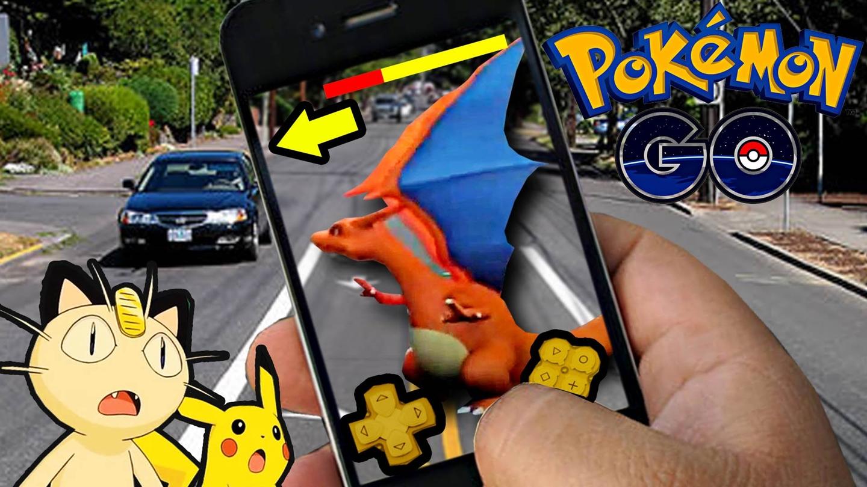 Usar Pokémon Go en el coche