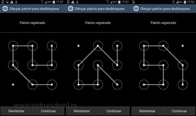 Desbloquear celular sin patrón