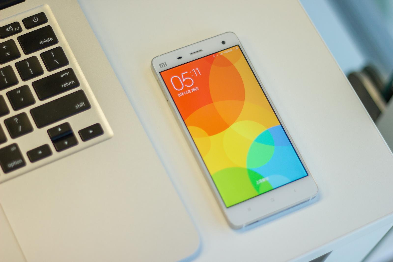 Hacer captura de pantalla en Xiaomi MIUI