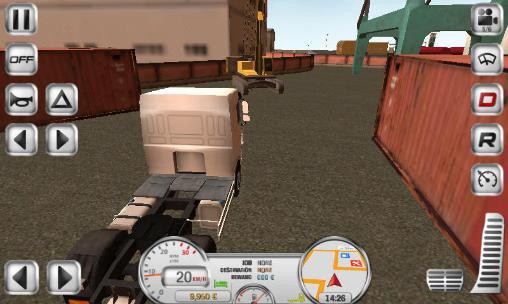 Mejores simuladores camiones Android