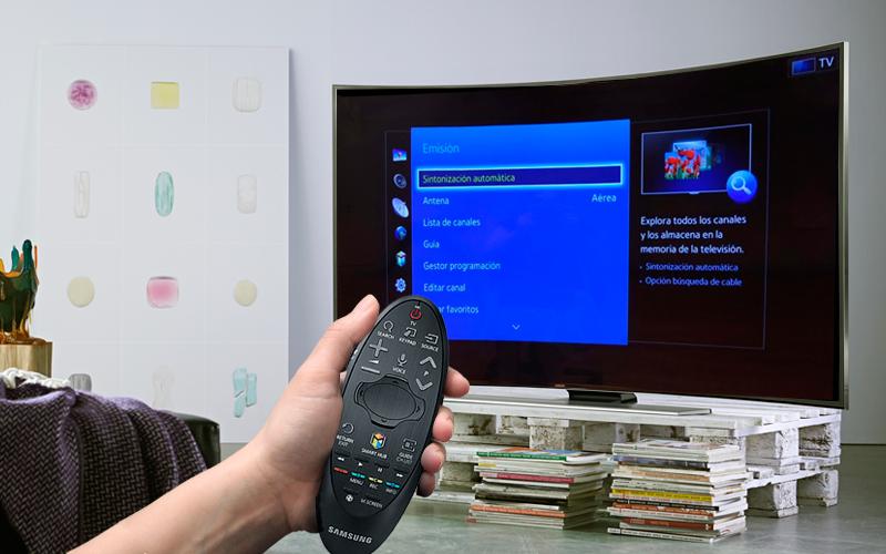 Sintonizar canales en Samsung Smart TV