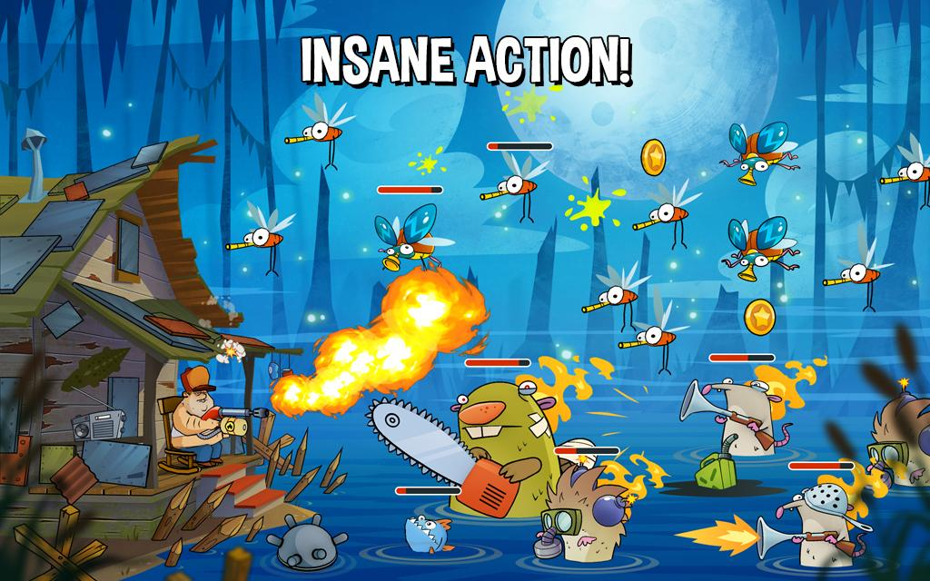 Swamp Attack para iOS