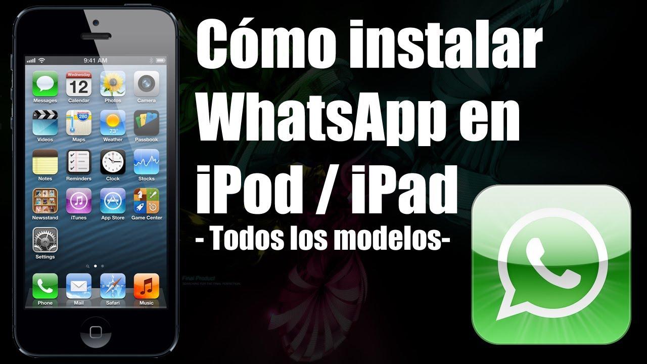 WhatsApp en iPad