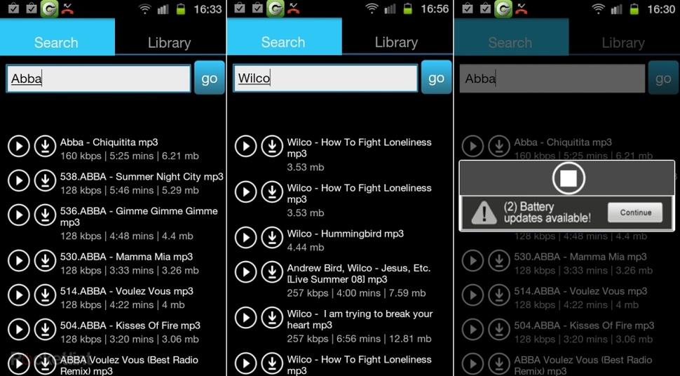 Aplicaciones descargar música Android