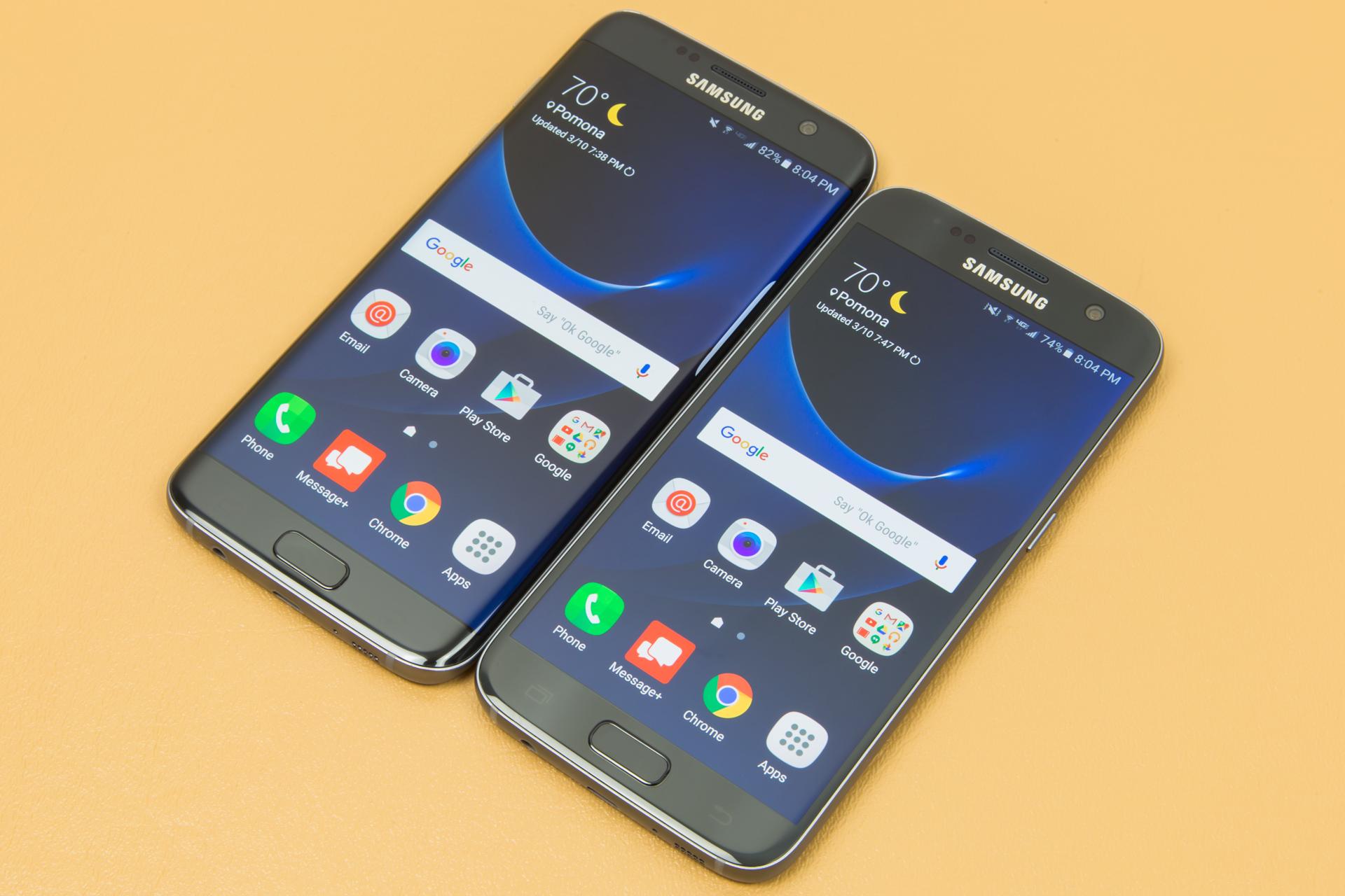 Samsung Galaxy S7 y S7 Edge 2