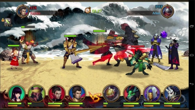 juegos-para-huawei-legends-of-100-heroes