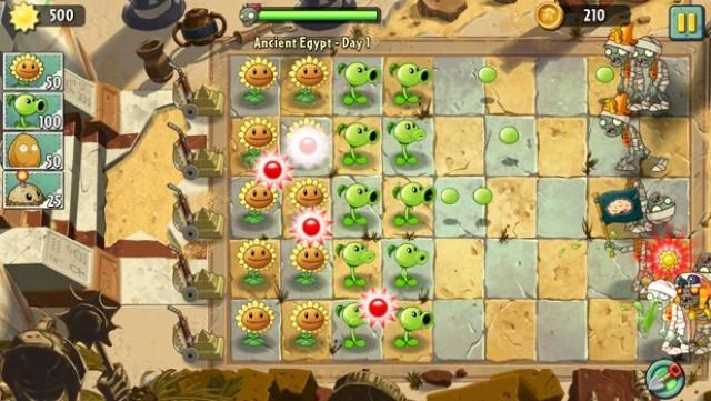 juegos-para-iphone-plants-vs-zombies-2