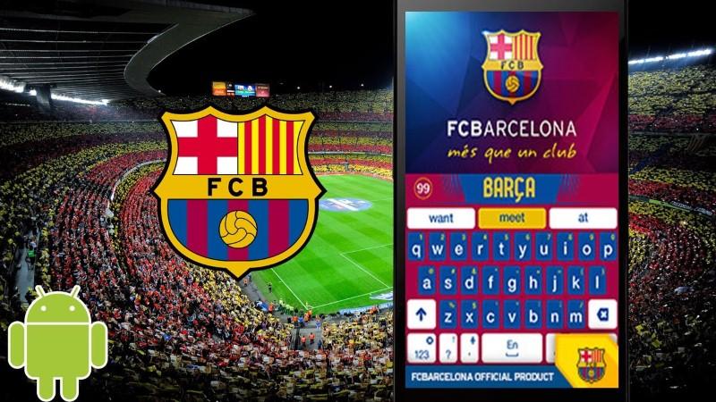 Descarga el nuevo teclado del Barcelona para Android