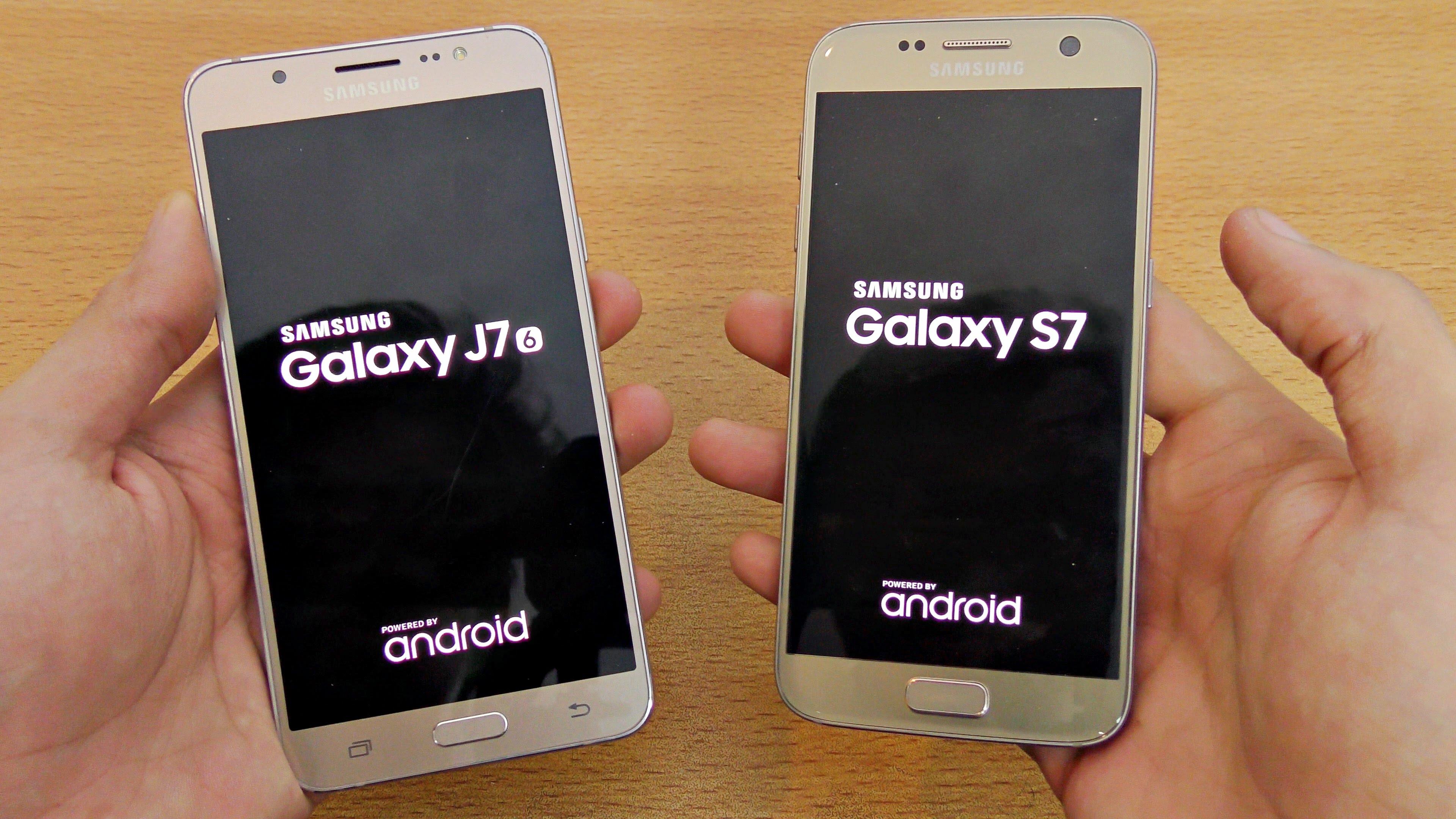 Samsung galaxy S7 y j7
